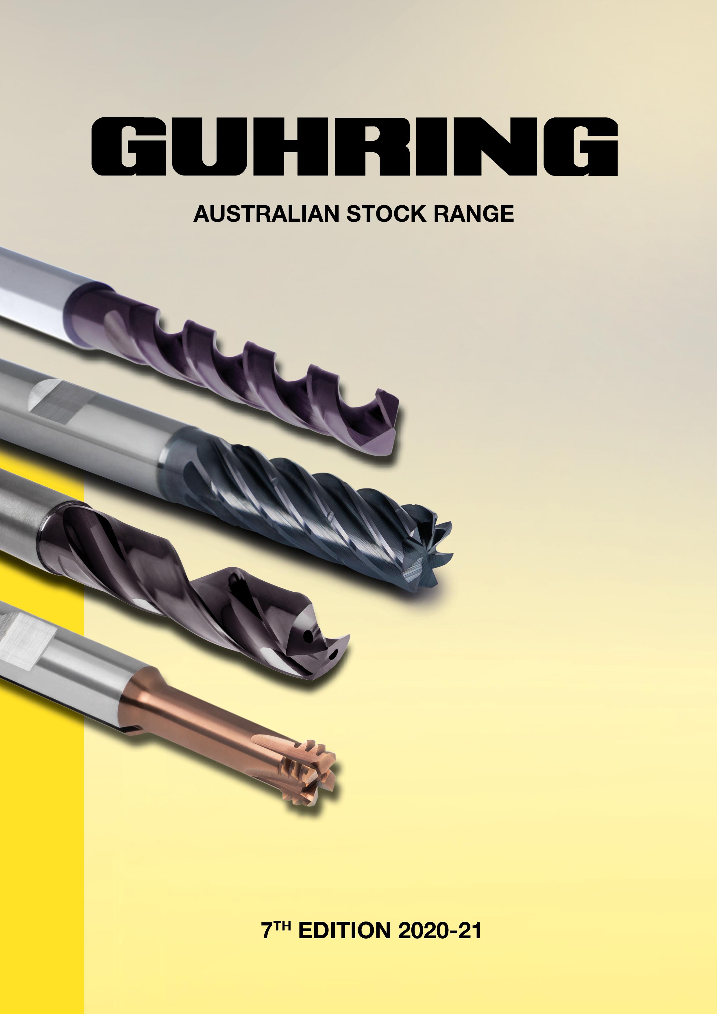 Guhring Australian Stock Range Catalogue 2020-2021
