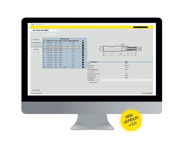 Threadmill software